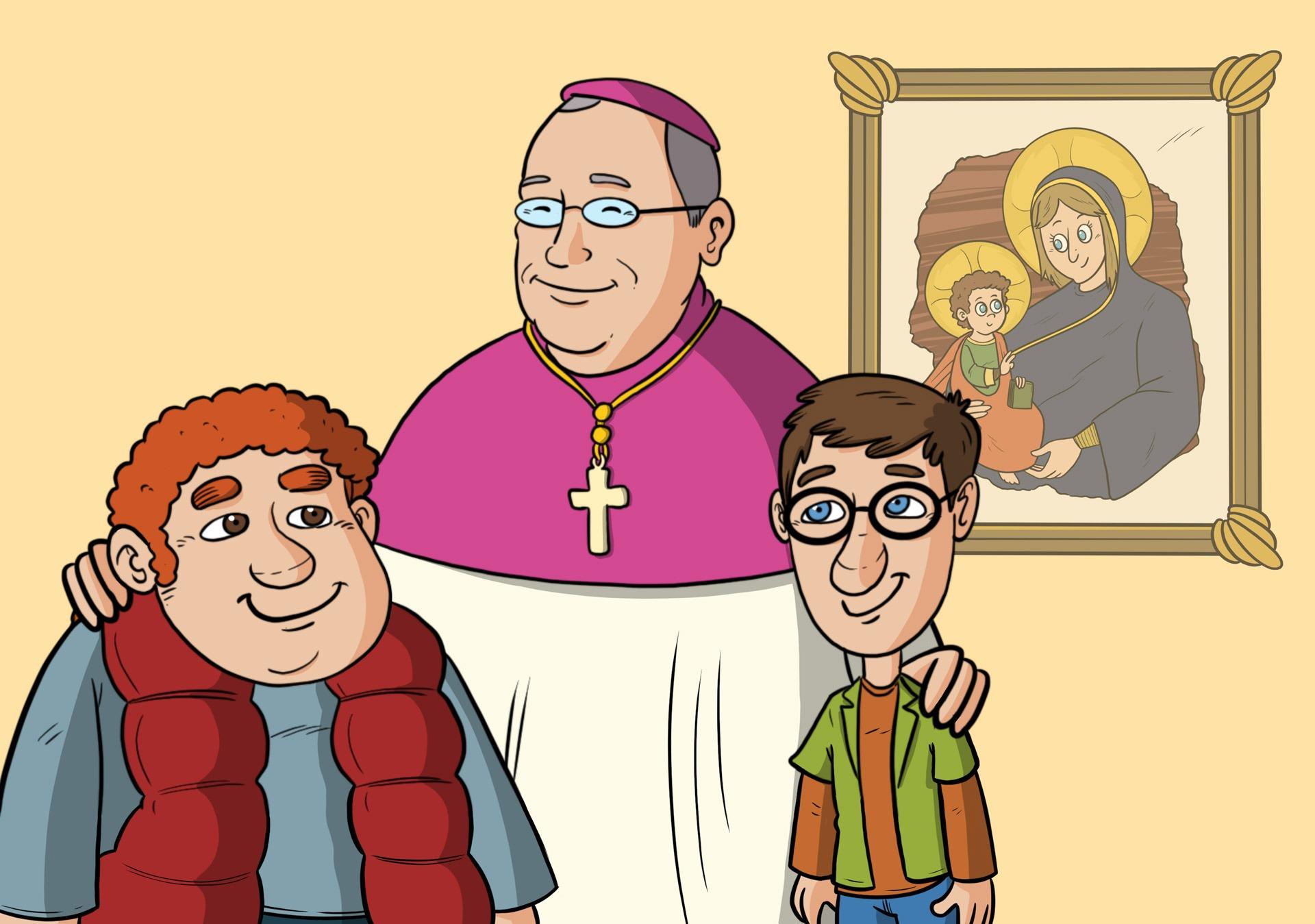 Un fumetto per scoprire il Sinodo diocesano